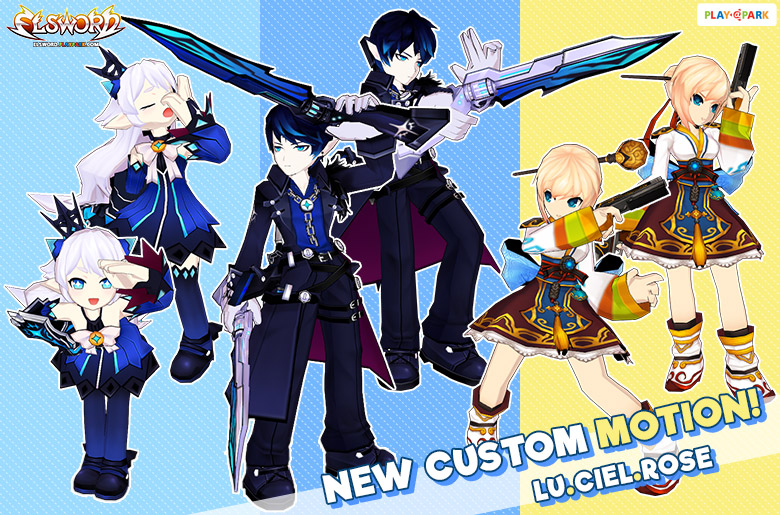 [New Custom] LuCiel & Rose Motion