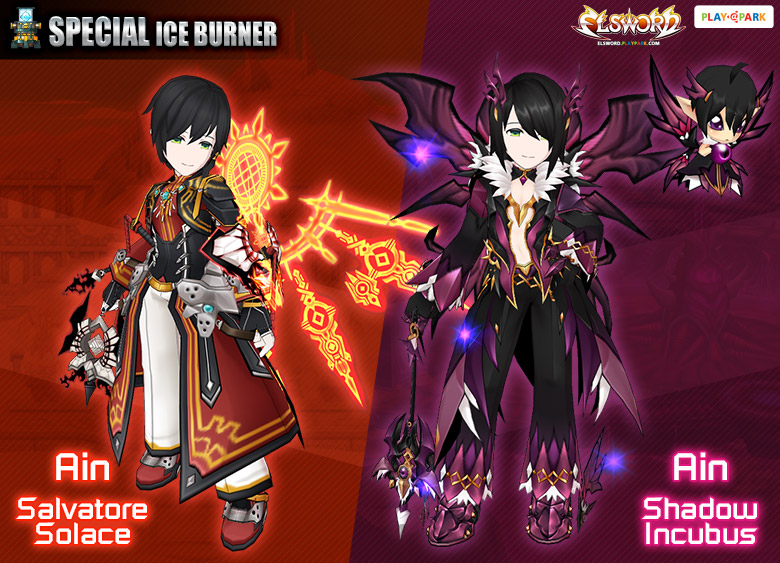 [Special Ice] Ain Salvatore Solace & Shadow Incubus