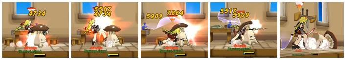 การโจมตี Combo