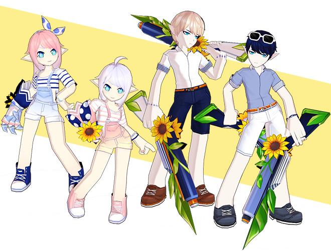 [Avatar Update] Summer Getaway