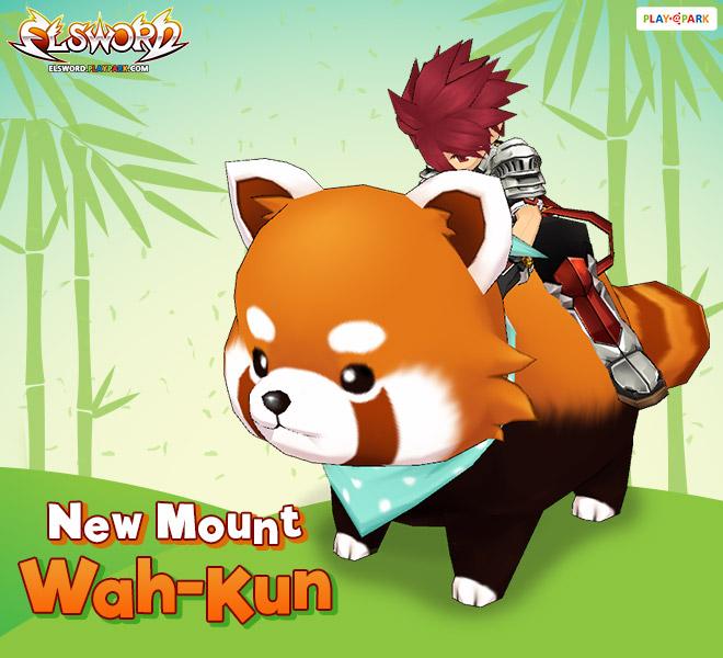 [New Mount] แพนด้าแดง Wah-Kun