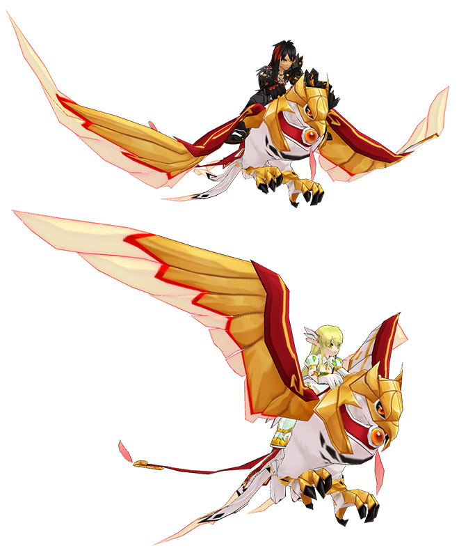 [New Mount] Gold Falcon