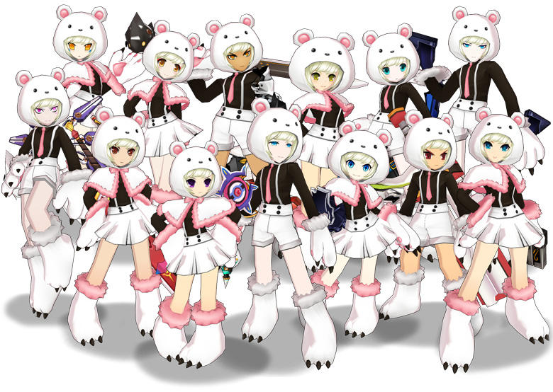 [Cash Shop] Bear Cosume & Ieru Eye