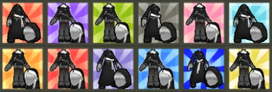 [Cash Shop]  Happy Box: Ice Burner  +  Sit: Frozen Tree + Dark Bishop Suit