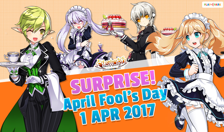 SURPRISE!!! April Fool's Day 1 เม.ย. นี้