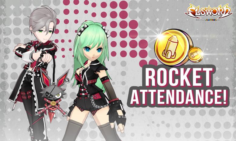 Rocket Attendance!!