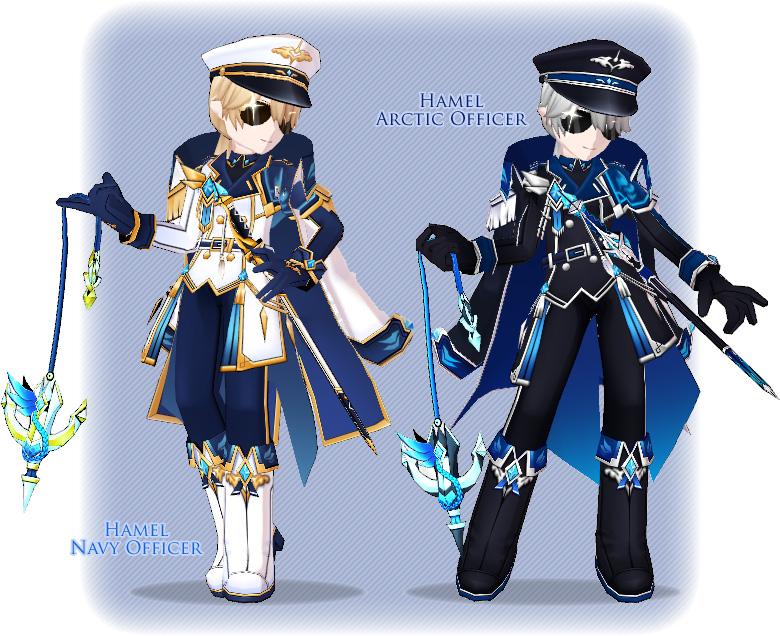 [Special Ice] Ain Hamel Navy Officer & Evil Tracer 2