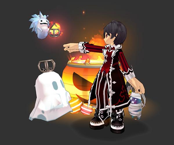 [Custom Sit] Jack-o-Lantern of Light