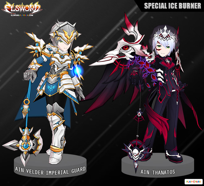 [Special Ice] Ain Velder Imperial Guard & Thanatos