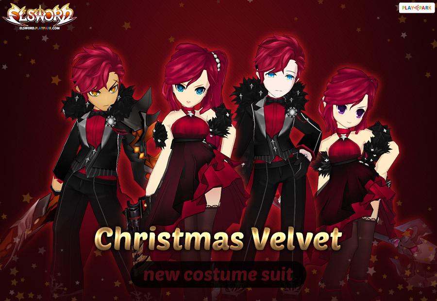 [Costume Suit] Christmas Velvet