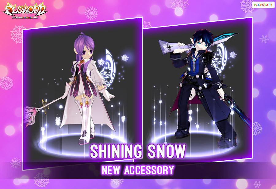 [New Accessory] Shining Snow