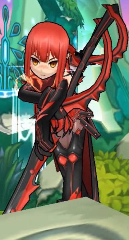 [ES] แนะนำตัวละคร Elesis สายที่ 3 Dark Knight / Crimson Avenger