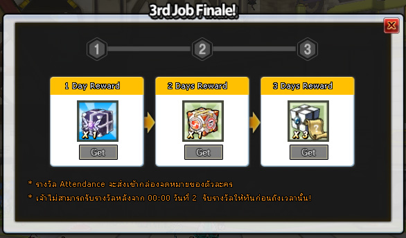 3rd Class Finale Event