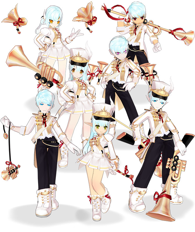 [Avatar Update]  Elrios Marching Band ♫ ♪