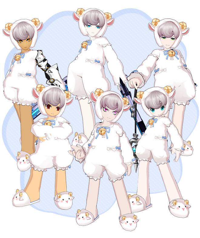 [New Costume Suit] Little Lamb 🐑