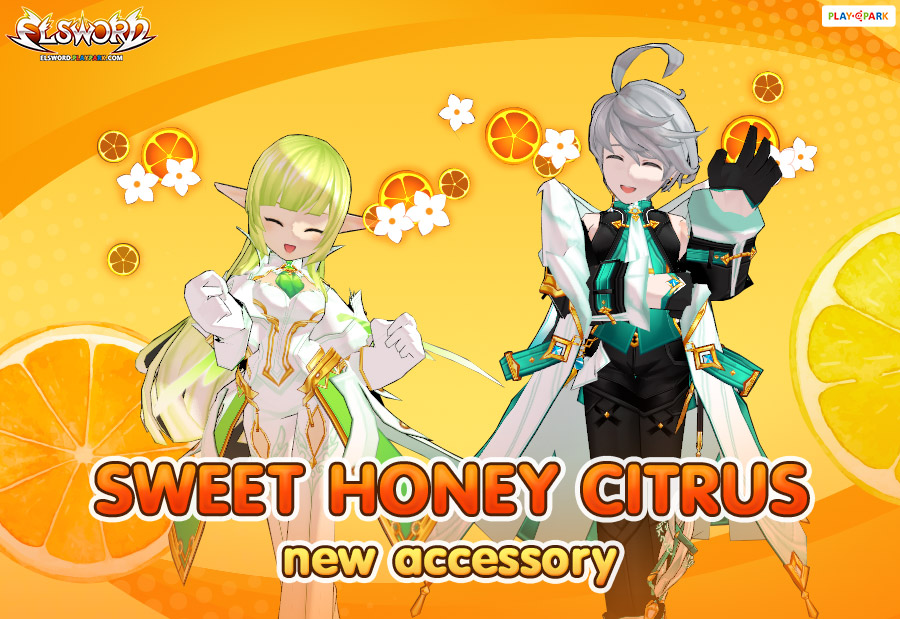 [New Accessory] Sweet Honey Citrus