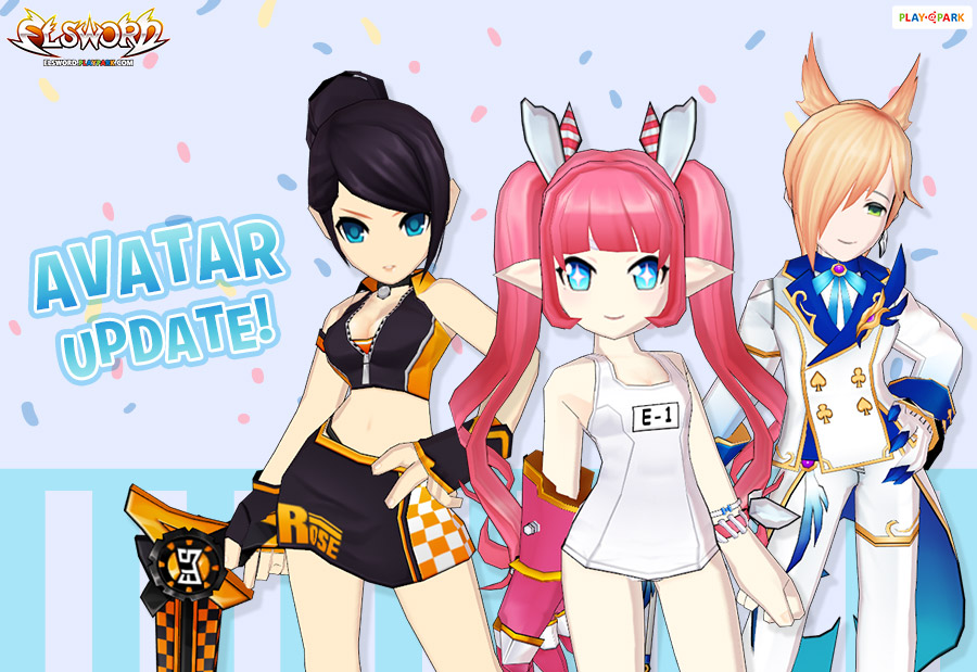 [Avatar Update] School Swimwear / Rose ELS-N1 Grand Prix / Ain Wedding & Wonderland