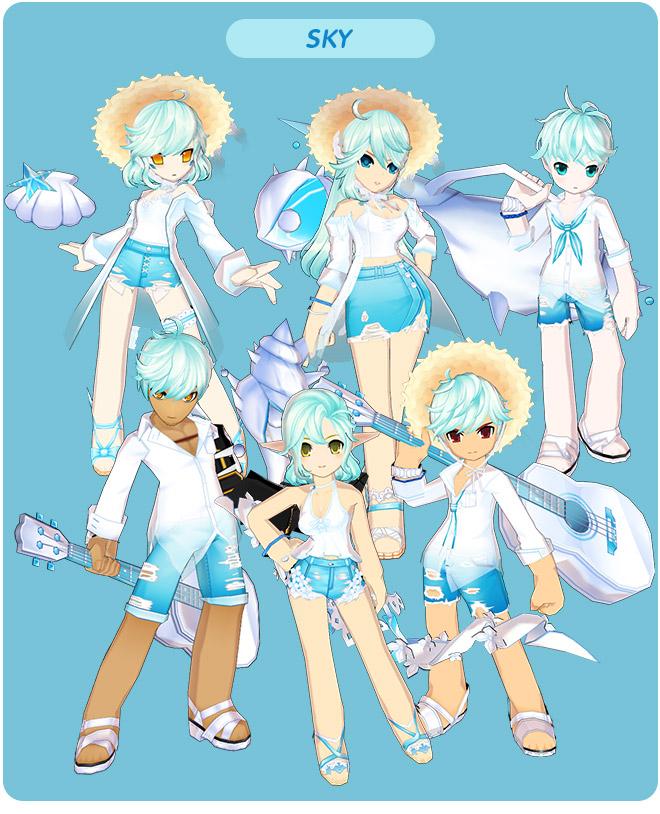 [Avatar Update] Romantic Summer 🍹