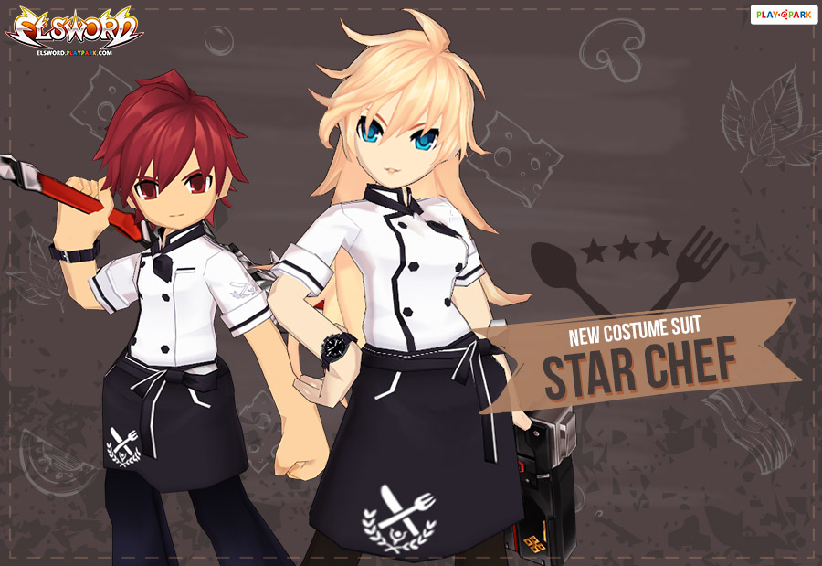 [New Costume Suit] Star Chef 🍳