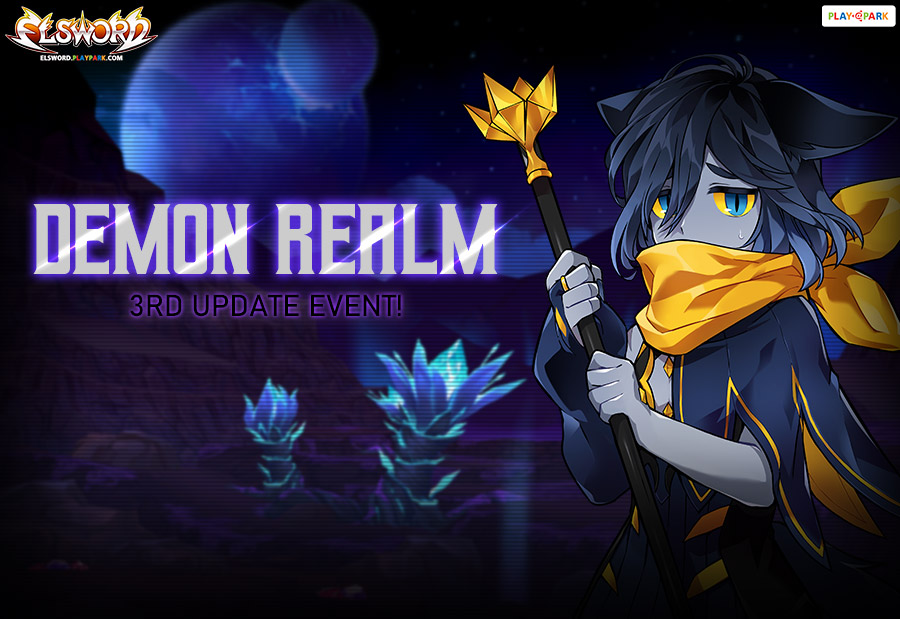 Demon Realm Dungeon 3RD Update Event - Elsword