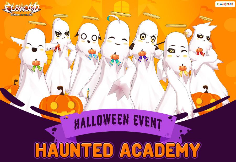 2018 Halloween Event (Haunted Academy)