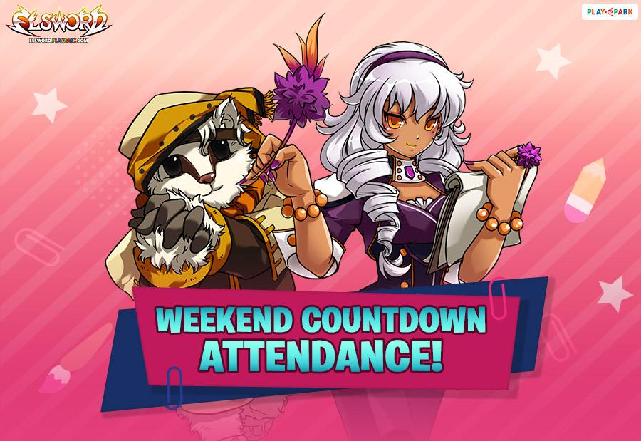 Weekend Countdown Attendance