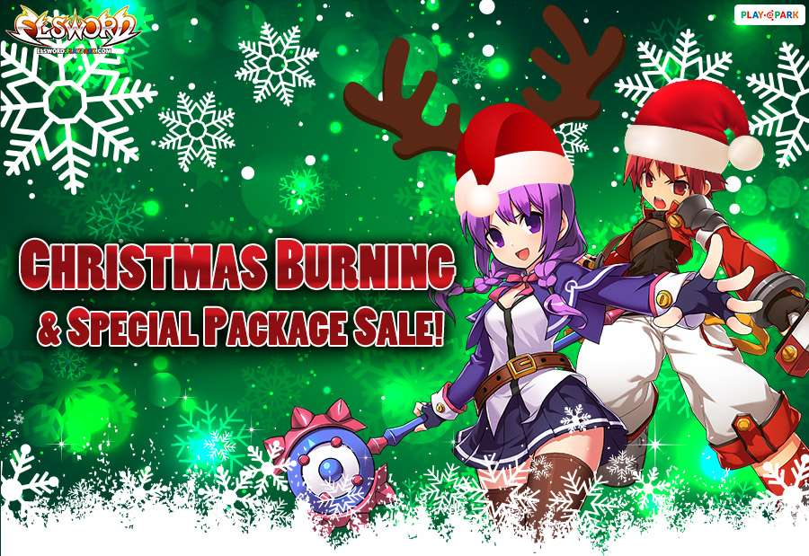 Elsword Christmas Burning Event !!