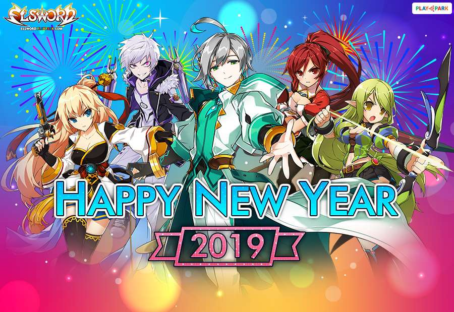 Elsword New Year Event !!