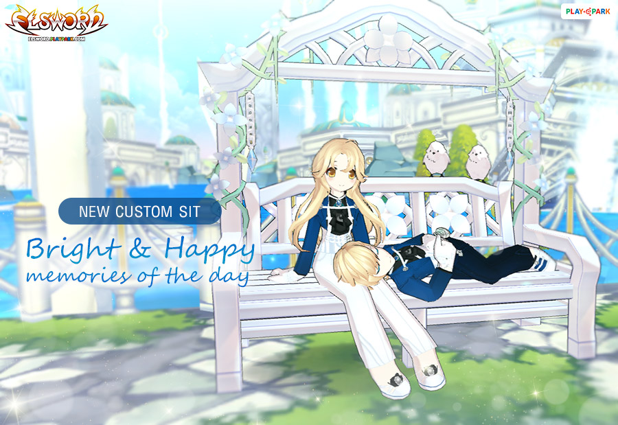 [New Custom Sit] Bright&Happy Memories of the day