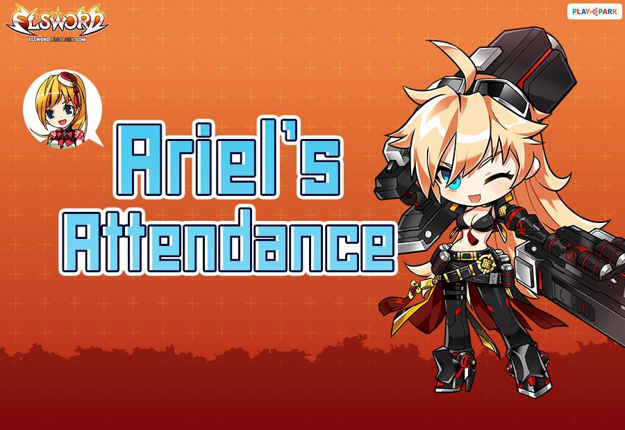 Ariel's Attendance Event