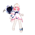 Laby_White Angel's Wing Weapon Guard_1