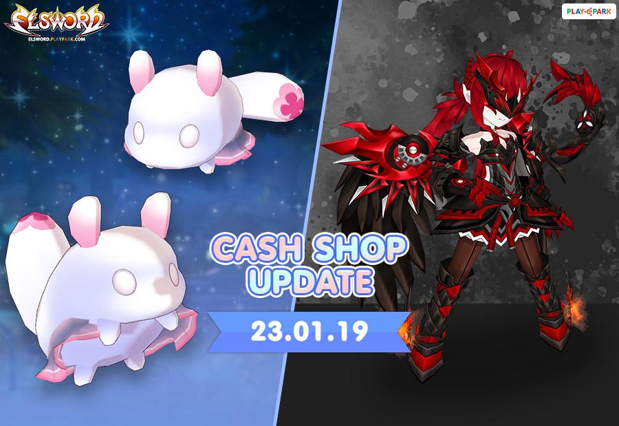 [Cash Shop Update] 23-01-62