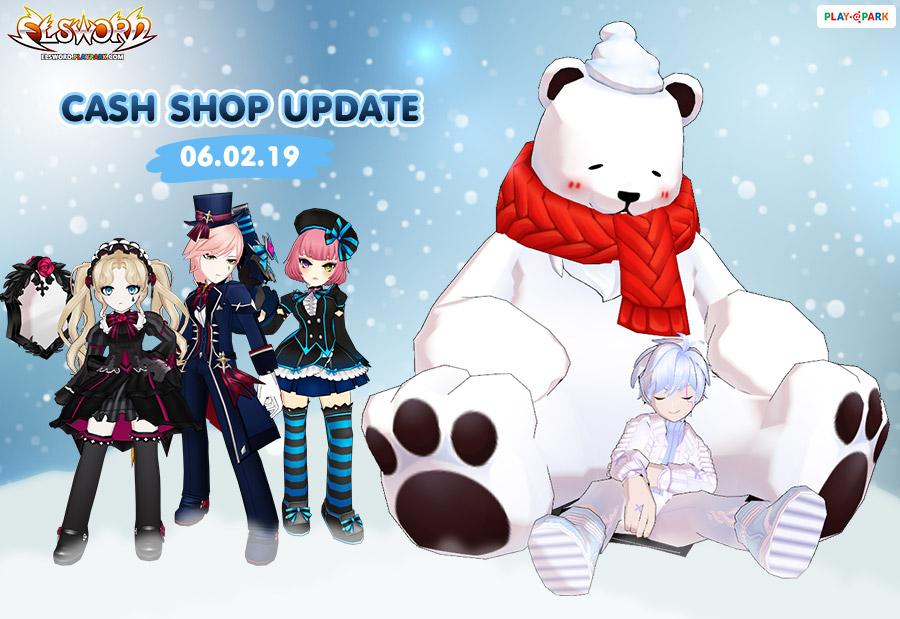 Cash Shop Update 06/02/2019
