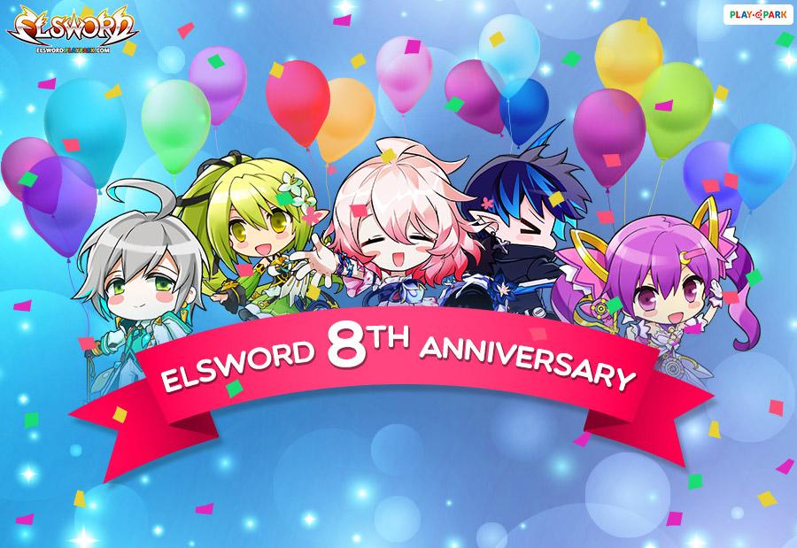 [Elsword] 8th Anniversary Event