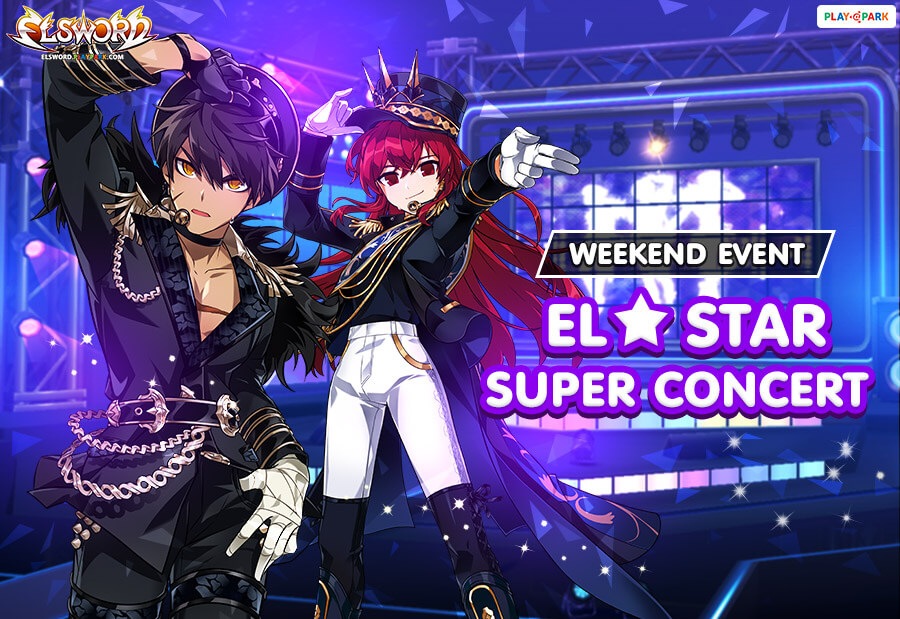 [Elsword] ELSTAR Super Concert in the Weekend!