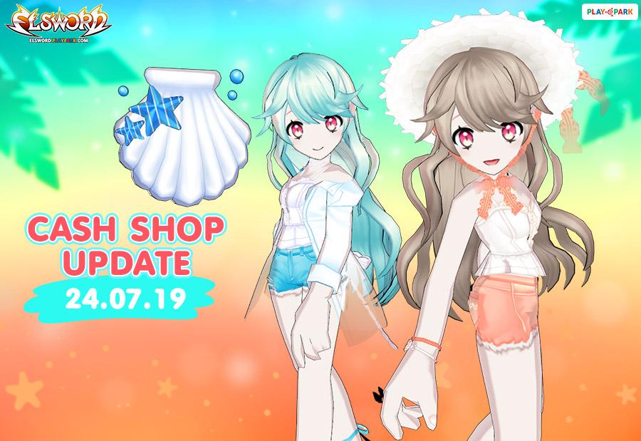 [Elsword] Cash Shop Update 24/07/2019