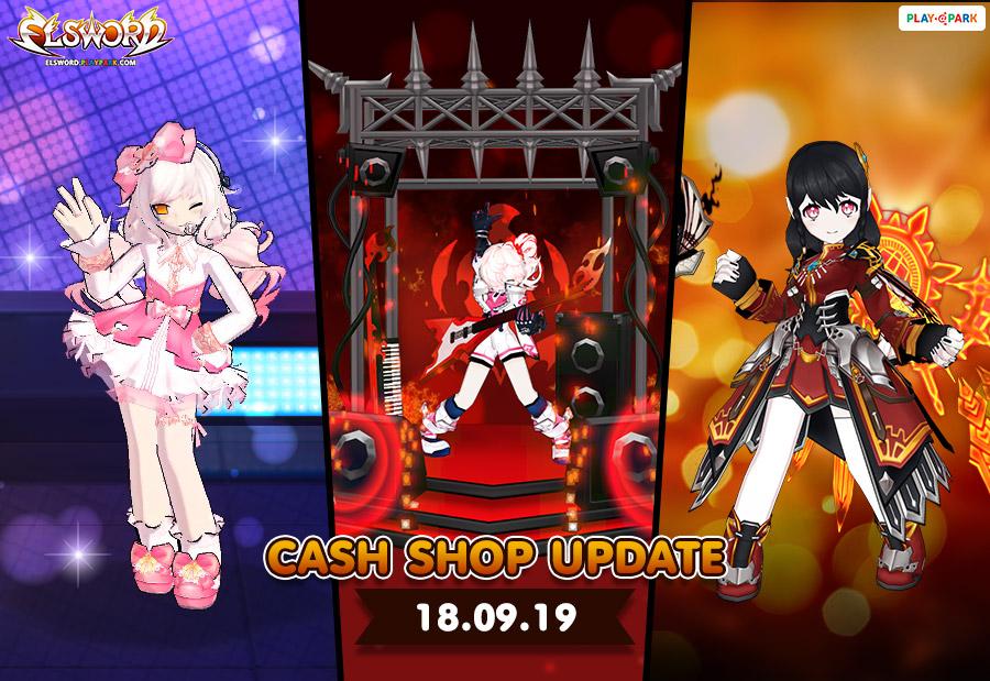 [Elsword] Cash Shop Update 18/09/2019