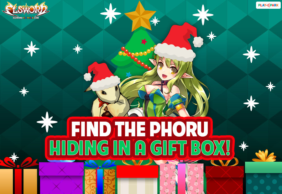[Elsword] Find the Phoru Hiding in a Gift Box! Event