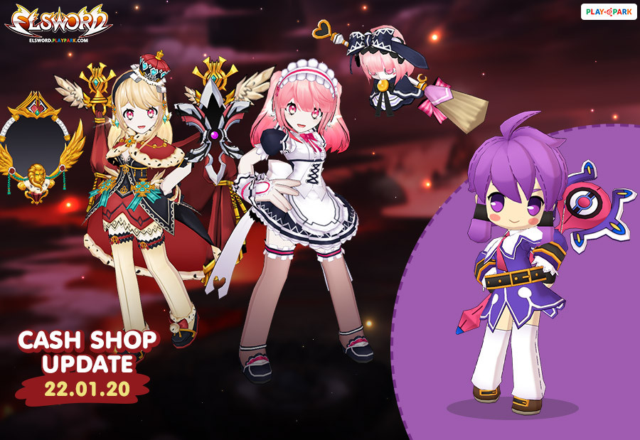 [Elsword] Cash Shop Update 22/01/2020