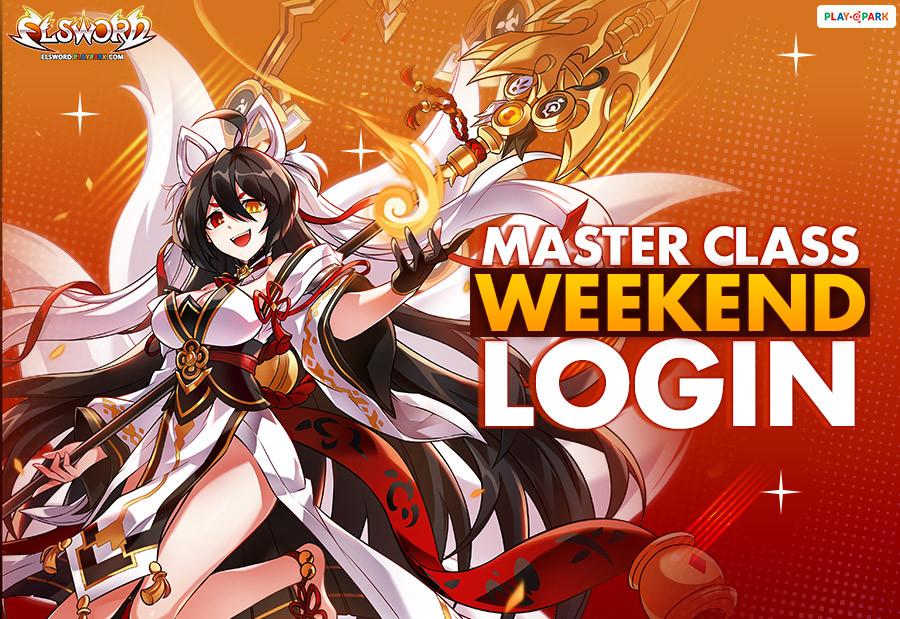 [Elsword] Master Class Weekend Login Event