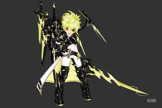 [Elsword]Ice Burner Update : Brilliant Knight