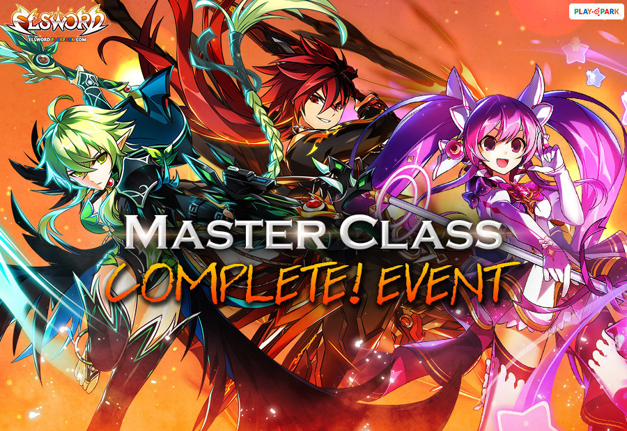 [Elsword] Complete Master Class Update Celebration Event