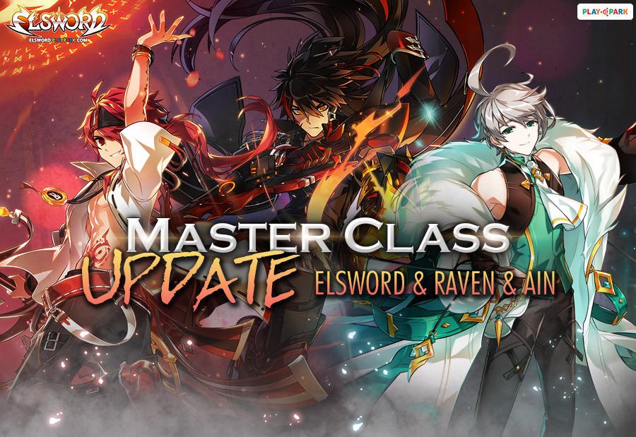 [Elsword] Master Class Ain&Elsword&Raven