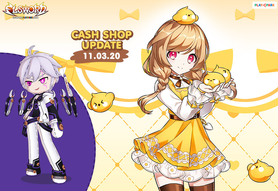 [Elsword] Cash Shop Update 11/03/2020