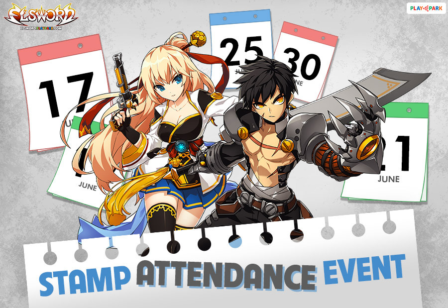 [Elsword] Stamp Attendance Event