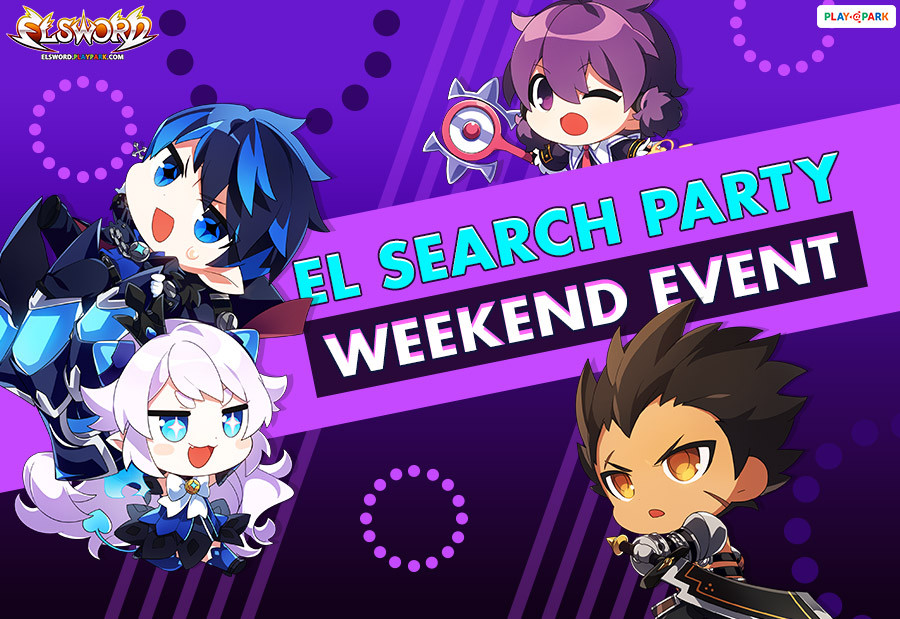 [Elsword] El Search Party Growth Support Weekend Event