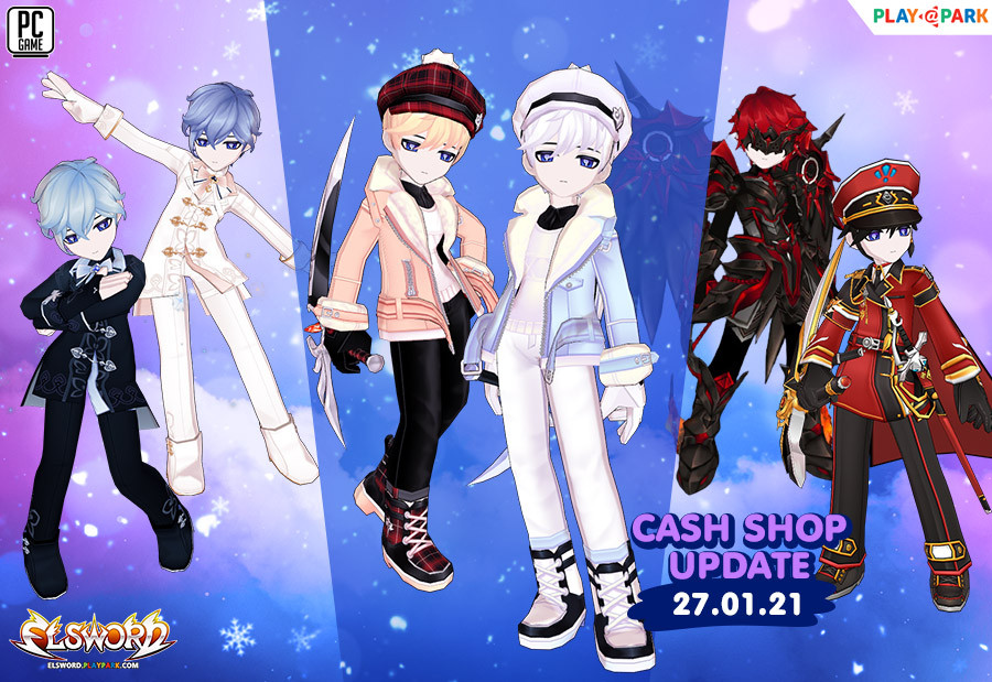 Cash Shop Update 27/1/2564