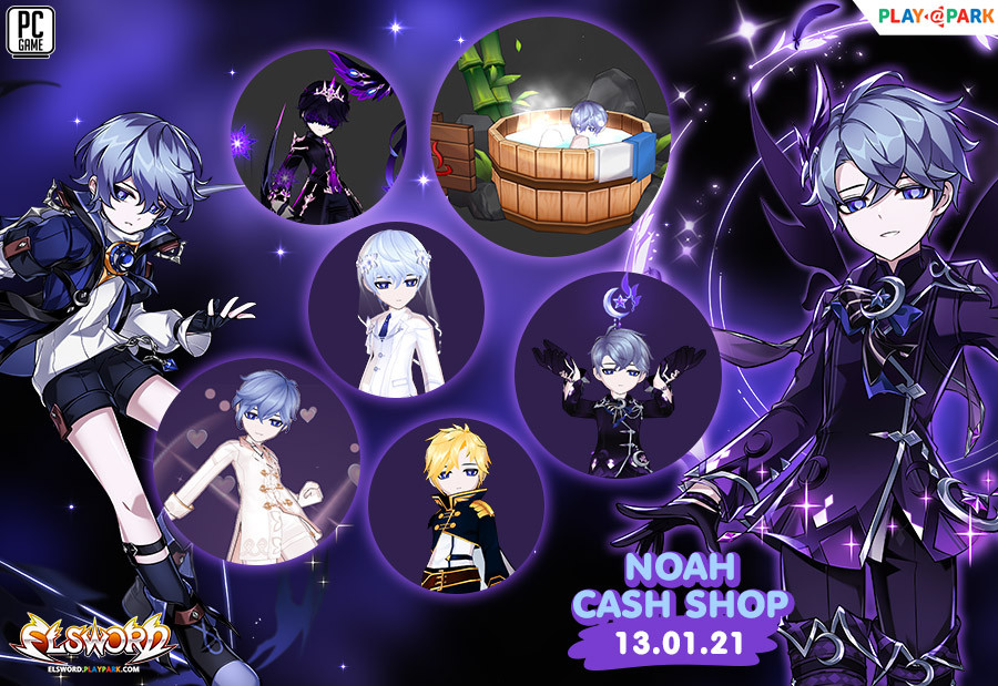 Noah Cash Shop Update 13/1/2564