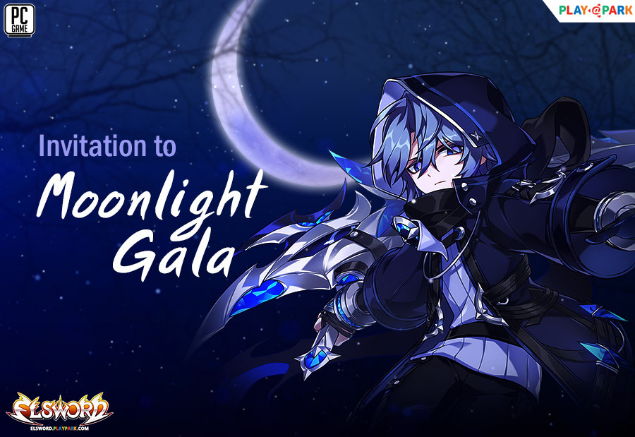 Invitation to Moonlight Gala (New Moon)