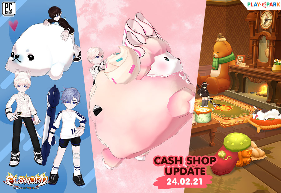 Cash Shop Update 24/2/2564